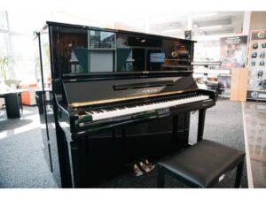 rekondíciované pianíno U3H black polished