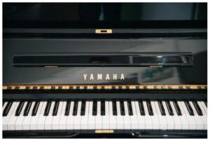 yamaha black polishet u3x